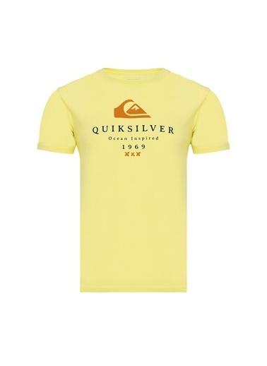 Quiksilver Firstfiress M Tees Firstfiress M Tees Sarı